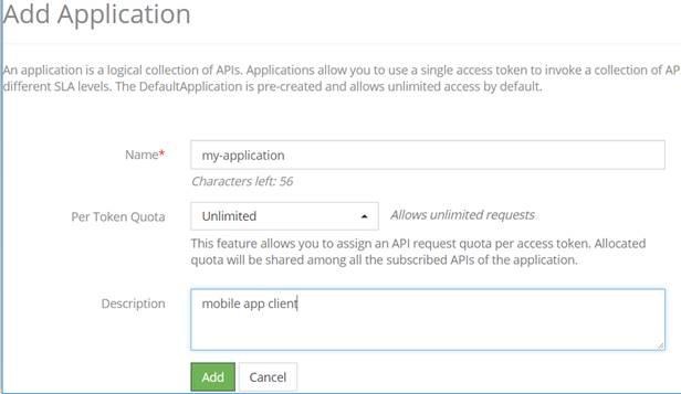 Generating an access token